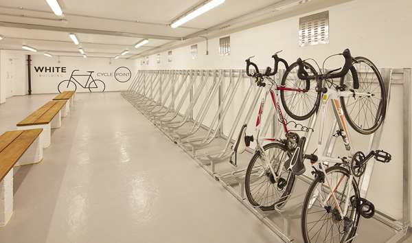 Latimer House Cycle Storage
