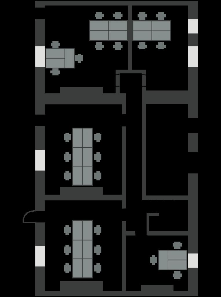 White Building Studios Floor Plan